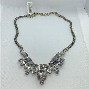 Stunning J. Crew glam statement necklace